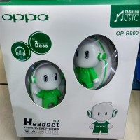 MUMER...!! HEADSET BANDO OPPO BONEKA OPPO 3D