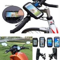 Tas Handphone Anti Air dengan Frame Stang untuk iPhone / Samsung