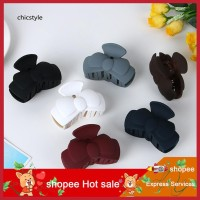 Terbaik 2Pcs Jepit Rambut Bentuk Pita Warna Polos untuk Wanita