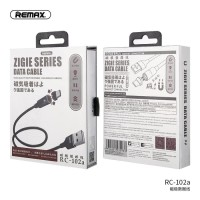 Sale Kabel Data Remax Zigie Magnetic Fast Charging 3A Type C USB -