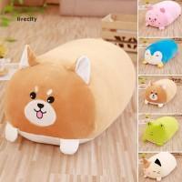 Bantal Boneka Stuffed Bentuk Binatang Kucing Bahan Plush Ukuran 30cm