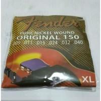 Senar Gitar Fender 150S String Pure Nickel Wound Electric Set 0.9/40