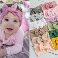 bandana pita lucu elastis/bando bayi/aksesoris bayi perempuan