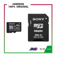 Sony Micro SD 32GB UHS-I Class 10 95mb/s MicroSD with SD Card Adapter