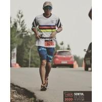 Kaos lari running tees dri fit triathlon gowes