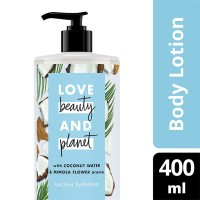 Body Lotion LOVE BEAUTY and PLANET Coconut Water & Mimosa Flower 400ml