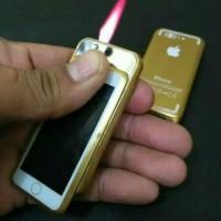Korek Api Las Handphone - Korek Api Iphone Mini - Gold
