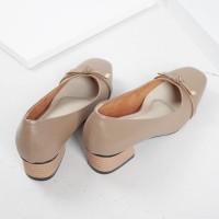Guzzini MN 355 Moca Coklat - Sepatu Heels Casual 3cm