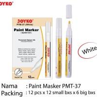PAINT MARKER JOYKO PTM 37 WHITE / PUTIH