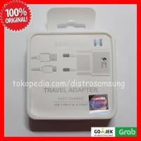 Charger Samsung S8 Fast Charging kabel data tipe C ORI 100% WHITE