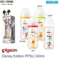 Pigeon Disney Edition 240ml PPSU SofTouch Baby Bottle Botol Susu Bayi
