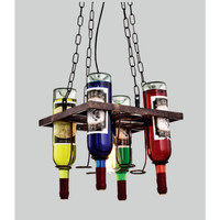 L-676/1L LAMPU GANTUNG VINTAGE ( 4 BOTOL )