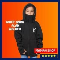 sweater jaket hoodie ninja alan walker anak hitam