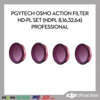 PGYTECH OSMO ACTION FILTER ND-PL SET (NDPL 8,16,32,64) PROFESSIONAL