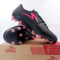 Sepatu Bola Specs Barricada Maestro Elite FG Black Pink 101115 Ori