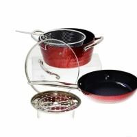 Round Cookware / Panci Vicenza 5pcs V5491