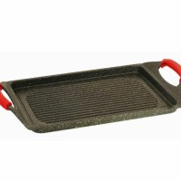 Grill pan with silicone grips / Pemanggang Vicenza VGP34