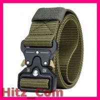 Rhodey Tali Ikat Pinggang Canvas Military Tactical 125cm MU055 Gre