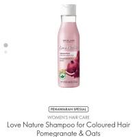 shampoo oat dan buah delima love nature