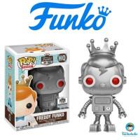 Funko POP! Silver Robot Freddy Funko (Funko HQ Exclusive)