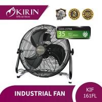 KIRIN INDUSTRIAL FAN 16 INCH FLOOR|KIF-161FL BLACK