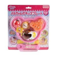 Mainan Anak Perempuan Mell Chan Kids Plate
