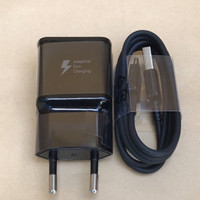 Charger Samsung S8 S8+ Note8 S9 S9+ Fast Charging Original Type C - Hitam