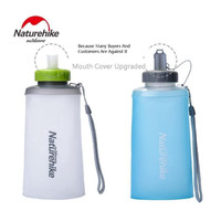 NatureHike Botol Minum Lipat Mini Portable Bahan Silikon Ultra Ringan