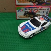 Mainan Mobil Polisi Bump & Go I Mainan edukasi Anak mobil polisi