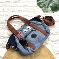 Termurah! Tas kipling travel art x emoji small