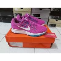 Sepatu Running Casual Nike Zoom Structure 19 Hyper Violet Original