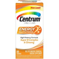 CENTRUM SPECIALIST ENERGY COMPLETE MULTIVITAMIN SUPPLEMENT (60-COUNT T