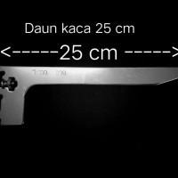breket kaca 25 cm