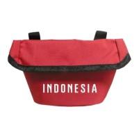 Tas Handlebar Stang Saddle Sadle Sadel Sepeda Lipat Merah INDONESIA