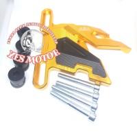 COVER KALIPER PCX NEW BLACK DIAMOND TUTUP CALIPER CNC BLACKDIAMOND PCX
