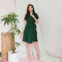 Dress Wanita Cewek Lengan Pendek V136 - Abigail Dress