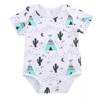 Baju bayi perempuan import jumpsuit bayi Joyful. Kids Little Cactus