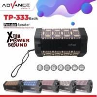 Speaker Advance TP 333 Bluetooth Portable MP3 FM Memori USB