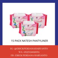 PAKET BELANJA (HEMAT) 15 Pack Natesh Pantyliner with Magnetic