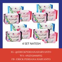 PAKET BELANJA (HEMAT) 4 Set Natesh Sanitary Pads with Magnetic