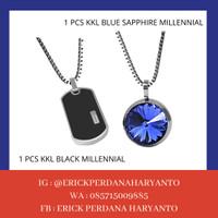 PAKET BELANJA (HEMAT) 1 KKL Black Millennial +Blue Sapphire Millennial