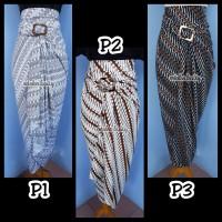 4. Rok lilit rok serut kain kebaya batik bsy polyster Free Ring gesper