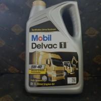 Oli Mobil Delvac 1 SAE 5w40 kemasan 5 liter