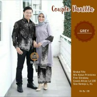 coupla batik danilla - baju couple pesta - sarimbit batik