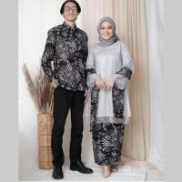 couple batik manggar - baju couple batik