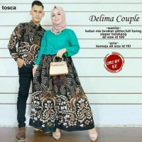 couple batik delima - baju couple batik
