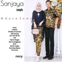 couple batik sanjaya - baju batik couple