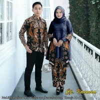 couple batik vannesa - baju pesta coupla