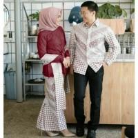 couple batik azzila - baju couple batik - sarimbit batik