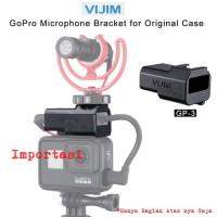 VIJIM GP-3 GoPro 5 6 7 Quick Release Microphone Bracket Adapter Stand